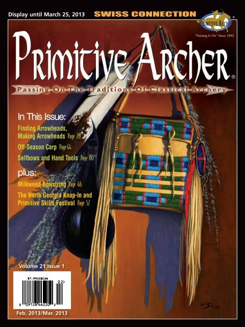 In This Issue: plus: - Primitive Archer Online