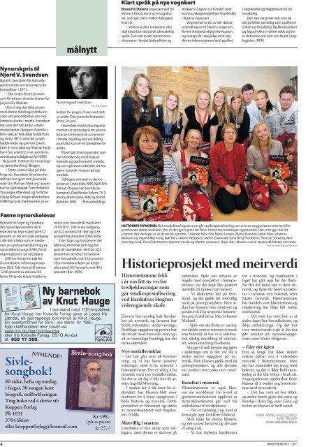 Norsk Tidend 3-11 - Noregs Mållag