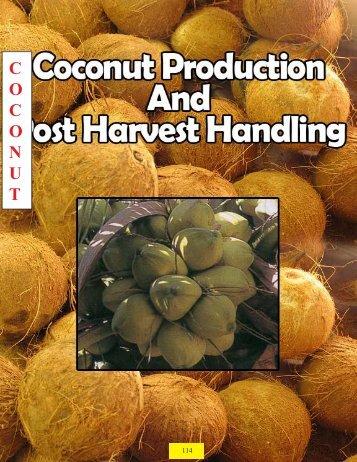 Coconuts - Guyana Marketing Corporation