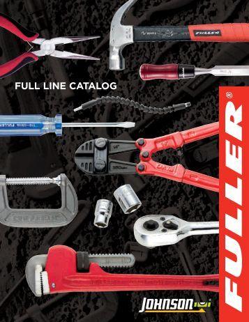 Fuller Catalog Cover - Johnson Level