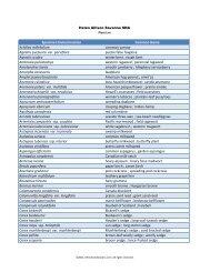 University of Minnesota Herbarium Plant List - Minnesota Seasons