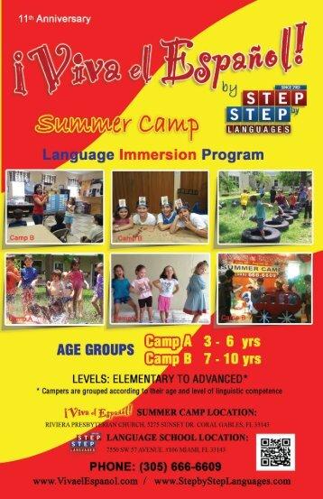 Brochure Summer Camp 2013