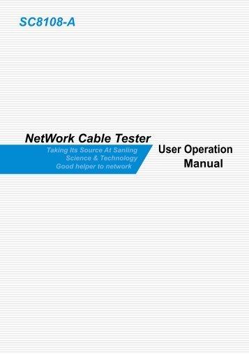 Mini Lan Cable Tester Mt 7058