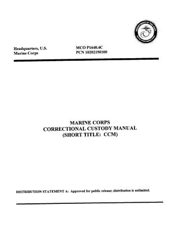 MCO P1640.4C.pdf - Marine Corps