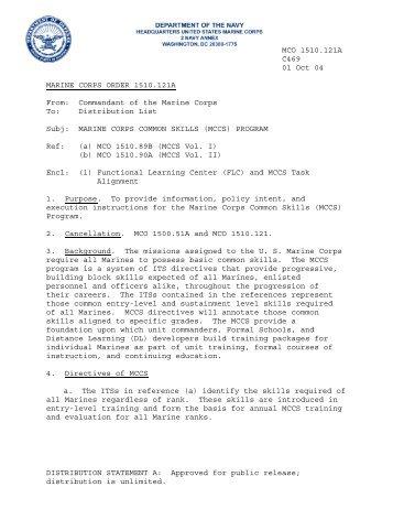 MCO 1510.121A.pdf - Marine Corps