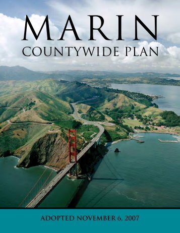 Marin Countywide Plan - Go to the Home Page