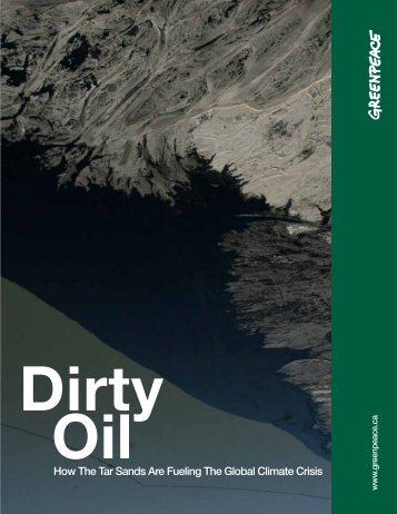 Dirty Oil - Greenpeace