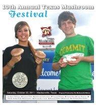 2011 Brochure! - Texas Mushroom Festival