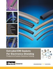 Extruded EMI Gaskets For Electronics Shielding - Parker