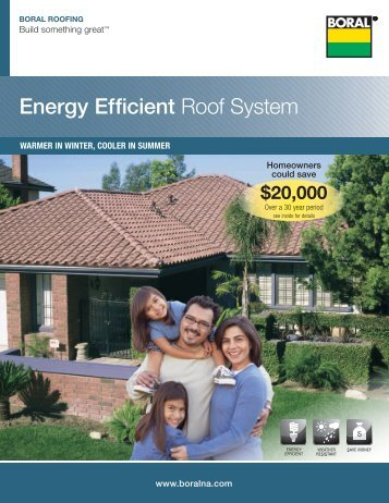 Introductionbrist for Energy efficient roofing