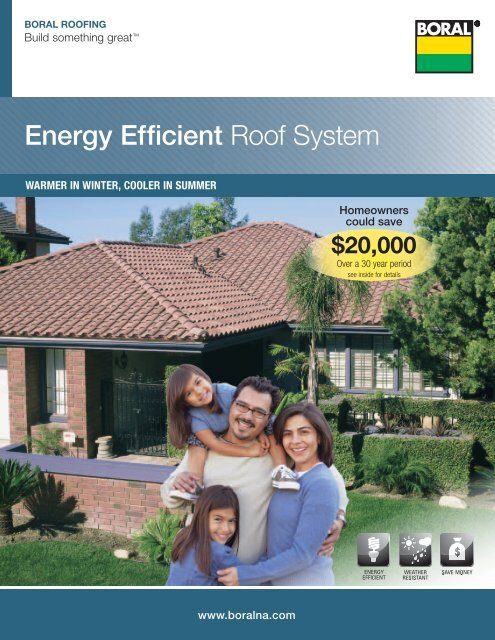 Download Our Boral Energy Efficient Roof System Brochure