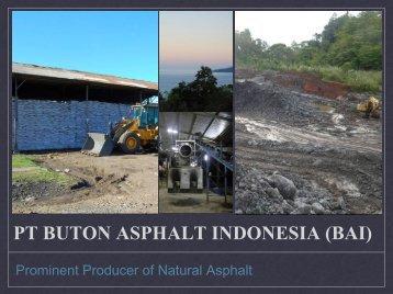 PT Putindo Bintech - Buton Asphalt Indonesia