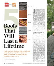 5Roofs That Will Last a Lifetime - Fine Homebuilding