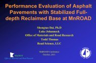 Performance Evaluation of Asphalt Pavements with Stabilized Full ...