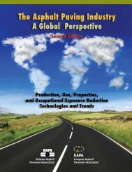 The Asphalt Paving Industry: A Global Perspective - EAPA