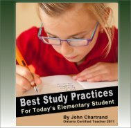 Best Study Practices for Today's Elementary Student - Ottawa Tutors