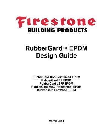Firestone - RubberGard EPDM Design Guide - BuildSite.com