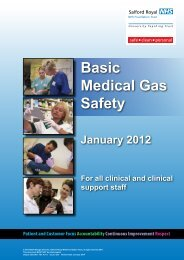 Basic Medical Gas Safety - srft e-learning portal