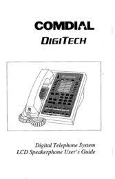Comdial DigiTech LCD Telephone User Guide-2.pdf - TextFiles.com