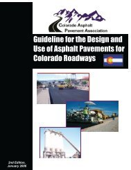 Guideline for the Design and Use of Asphalt Pavements for ...