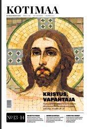 KRISTUS, VAPAHTAjA