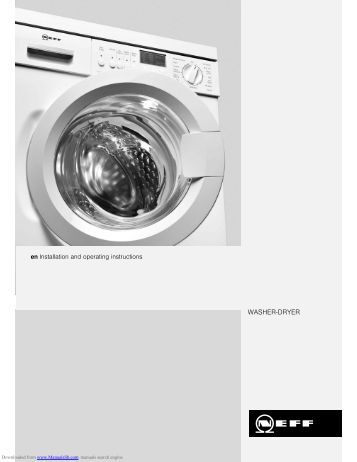 operating instructions for condenser tumble dryer t 4839. Black Bedroom Furniture Sets. Home Design Ideas
