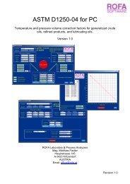 Table 54D – lubricants,