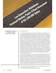 Low-Temperature Waterborne Pavement Marking Paints: A Road ...