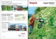 Rapid SWISS - Rapid Technic AG