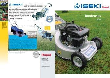 Tondeuses - Rapid Technic AG