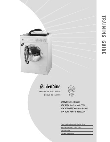9 free magazines from splendide com rh yumpu com Splendide Washer Dryer Manual splendide 2000 s manual