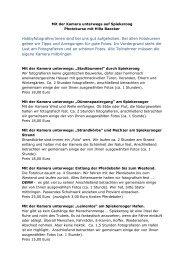 weitere Informationen - Spiekeroog