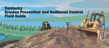 Kentucky Erosion and Sedimentation Control Field Guide