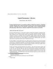 Lipoid Pneumonia: A Review - Bahrain Medical Bulletin