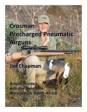Crosman Precharged Pneumatic Airguns - American Airgun Hunter