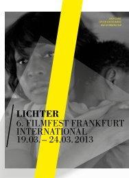 Programmheft 2013 - Lichter