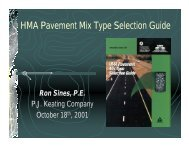 HMA Pavement Mix Type Selection Guide - Sines - Superpave