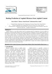 Rutting Prediction of Asphalt Mixtures from Asphalt Cement