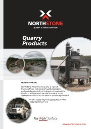 Quarry Products Brochure - Northstone