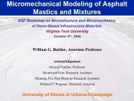 Micromechanical Modeling of Asphalt Mastics and Mixtures