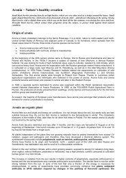 Aronia – Nature's healthy creation - Aronia Berry Plantation