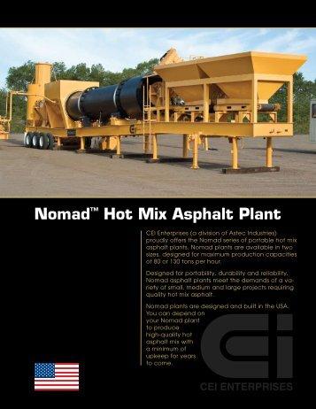 Nomad™ Hot Mix Asphalt Plant - Astec Inc.