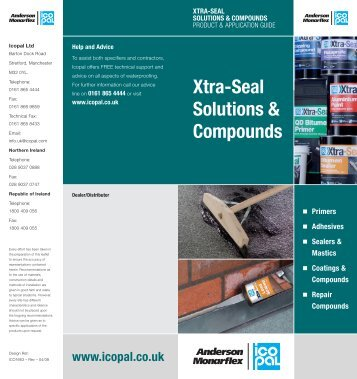 Xtra-Seal Solutions & Compounds - Icopal