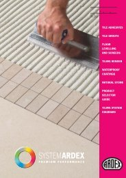 tile adhesives tile grouts floor levelling and screeds tiling render ...