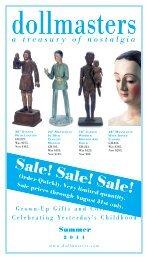 Sale! Sale! Sale! - Dollmasters