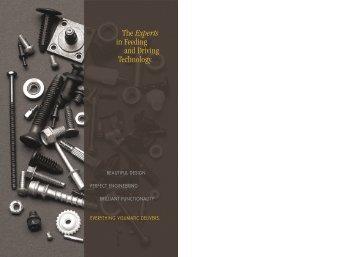 Visumatic Brochure - WESCO Production Tools Ltd.