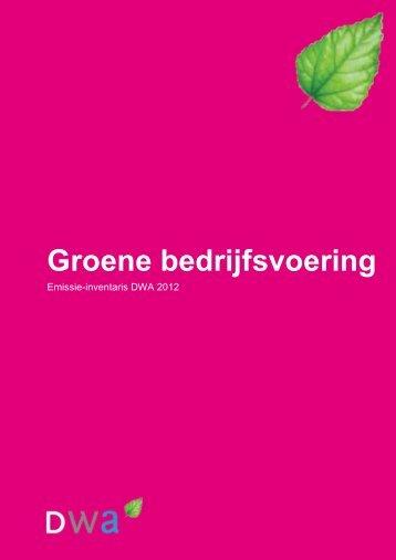 Groene bedrijfsvoering