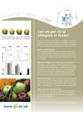 Eat for life - Immunity - Institute of Food Research - Page 6