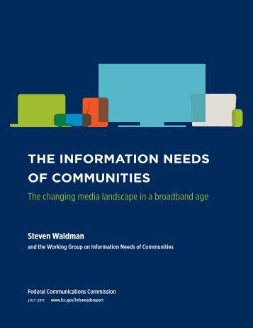 The_Information_Needs_of_Communities