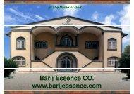 Barij Essence CO. www.barijessence.com - DfID